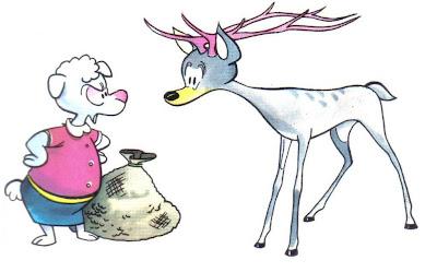 la oveja y el ciervo