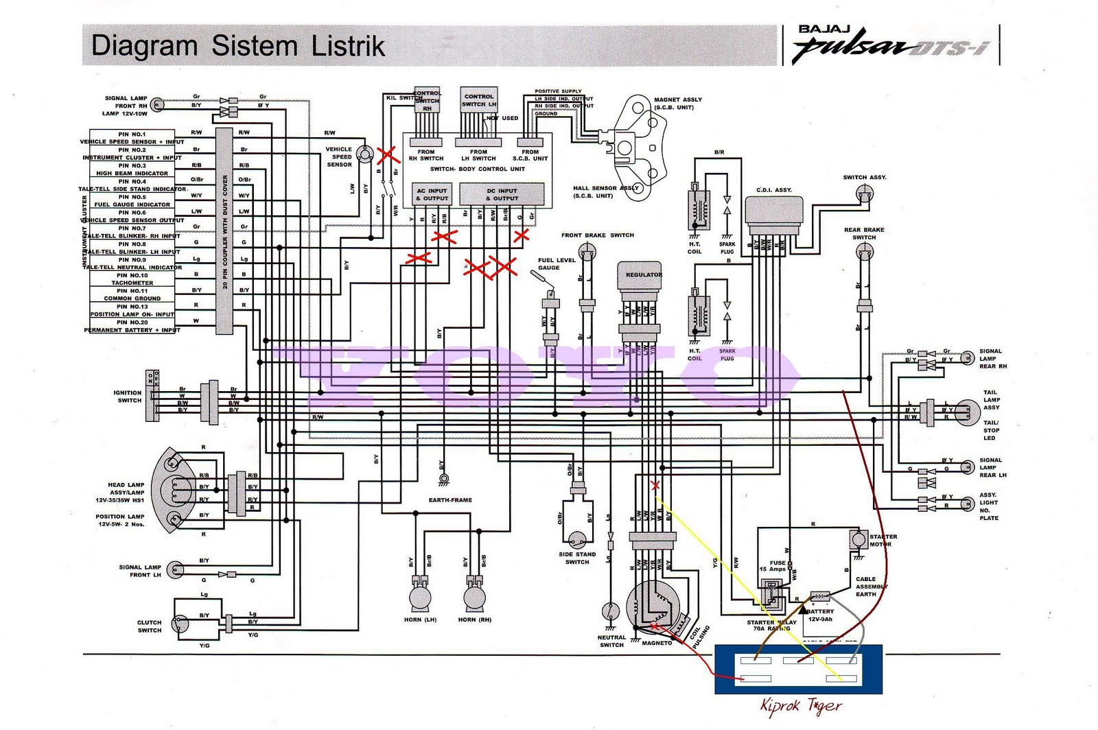 Yo2 Diy Full Wave Bajaj Pulsar 180 Schematic Circuit Diagram Bajaj Wiring  Diagram