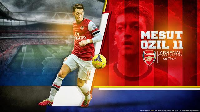 Ozil Tak Ragu Untuk Meninggalkan Arsenal Dan Bergabung Dengan Barcelona