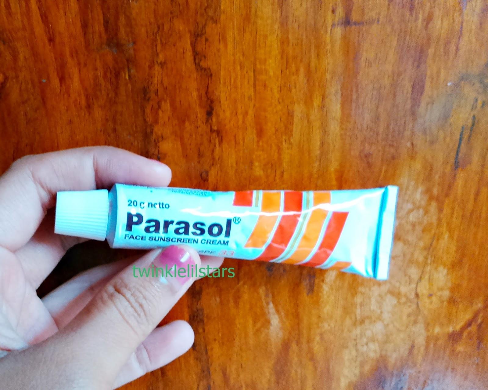 Parasol Face Sunscreen Cream Spf 33 Review Fuji Astyanis Blog Lotion Tekstur Dari Ini Kental Tapi Tidak Seperti Dia Lebih Ringan Dan Mudah Menyerap
