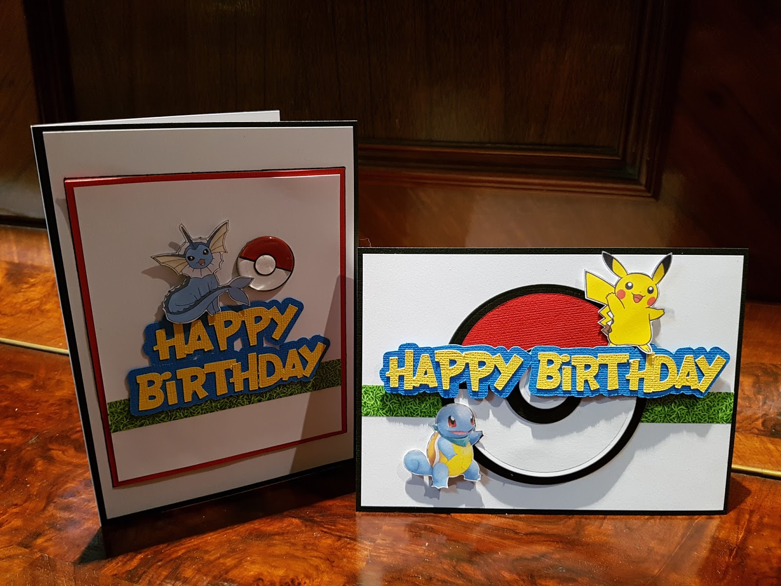 The Art Of Creating Pokemon Themed Birthday Cards