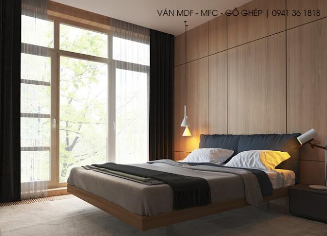 thiết kế phòng ngủ phong cách thư giản đọc sách