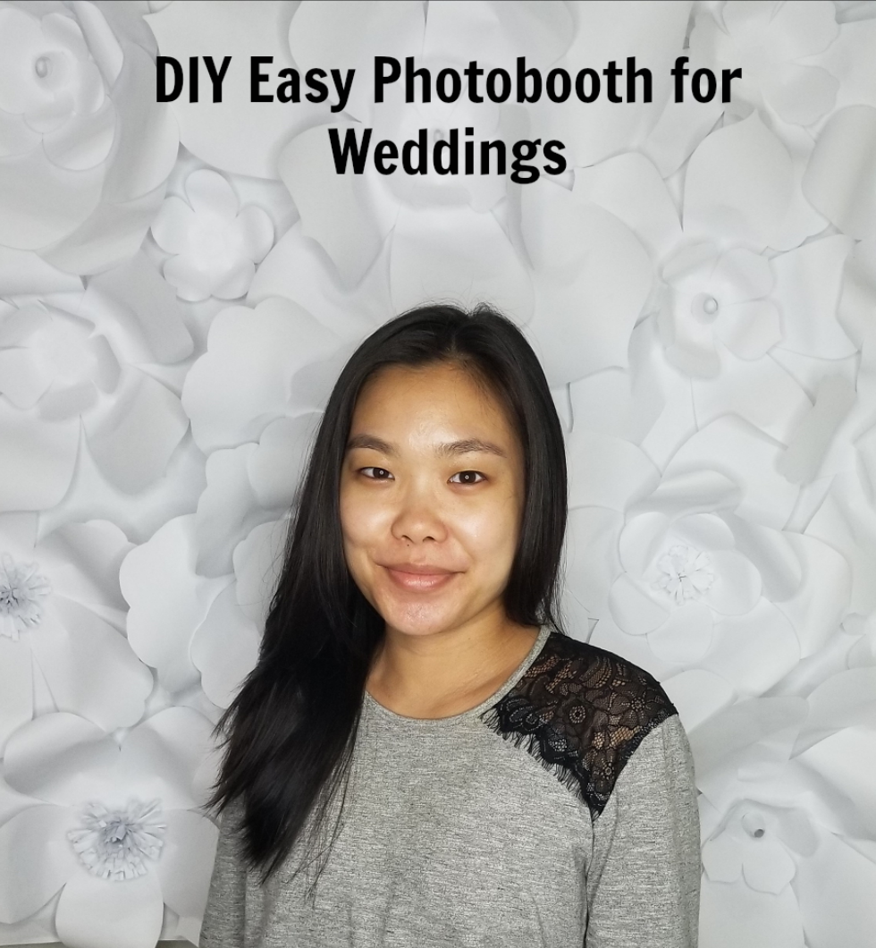 Easy DIY Photobooth for Weddings - La Vie en May - Petite ...
