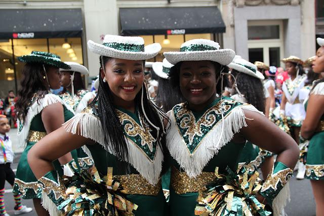 Imágenes del Desfile de la danza en Manhattan, New York USA