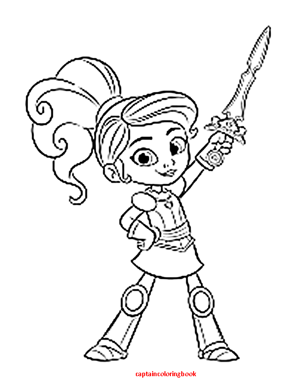 Nella The Princess Knight- Coloring Pages - Coloring Page