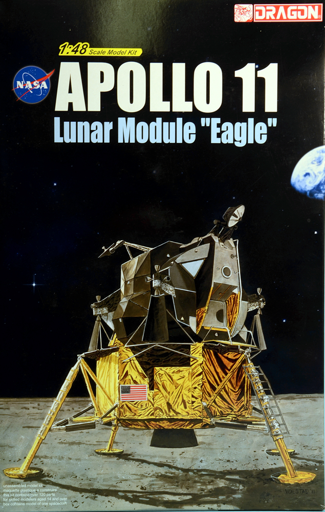 Scale Model News: MORE APOLLO 11 SPACECRAFT KITS FROM DRAGON