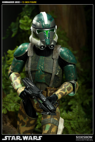 Stormtrooper Sideshow Collectibles  Commander Gree
