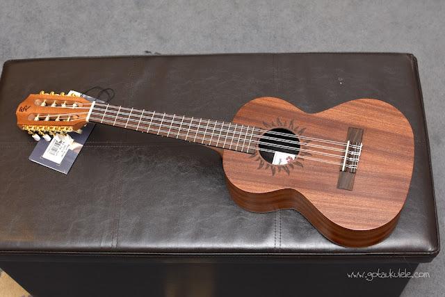 Baton Rouge V2T8 Sun 8 String Tenor ukulele