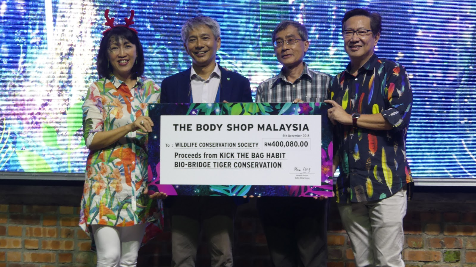 Jonathan YKT: The Body Shop gives back this Christmas