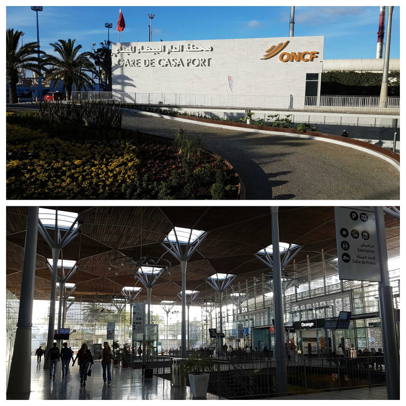 Gare de Casa Port, Casablanca, Marrocos