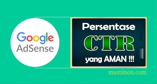 Inilah CTR Iklan Adsense yang AMAN supaya tidak di BANNED Google