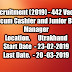 USCB Recruitment (2019) - 442 Posts of Clerk-cum-Cashier and Junior Branch Manager.