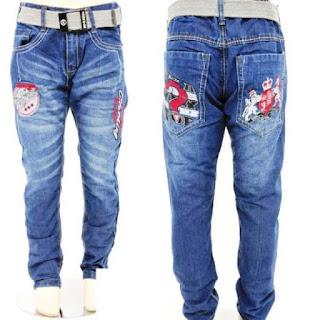 Celana Jeans Panjang Keren Untuk Anak Laki-Laki Model Terbaru