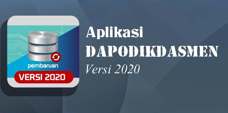 Aplikasi Dapodikasmen Versi 2020