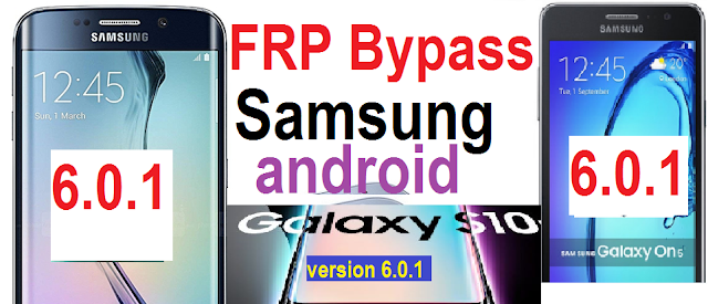 Samsung Android 6.0.1 FRP google account reset Samsung S7 Edge