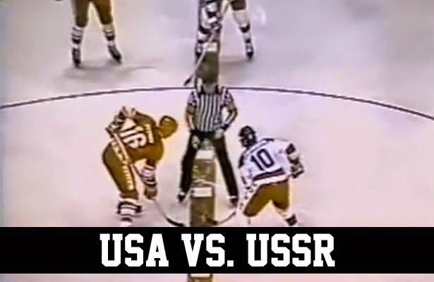 1980 U.S. Olympic hockey team vs. USSR exhibition game Madison Square Garden