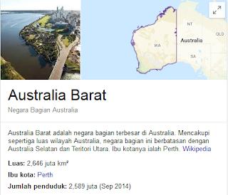 Western Australia atau australia barat