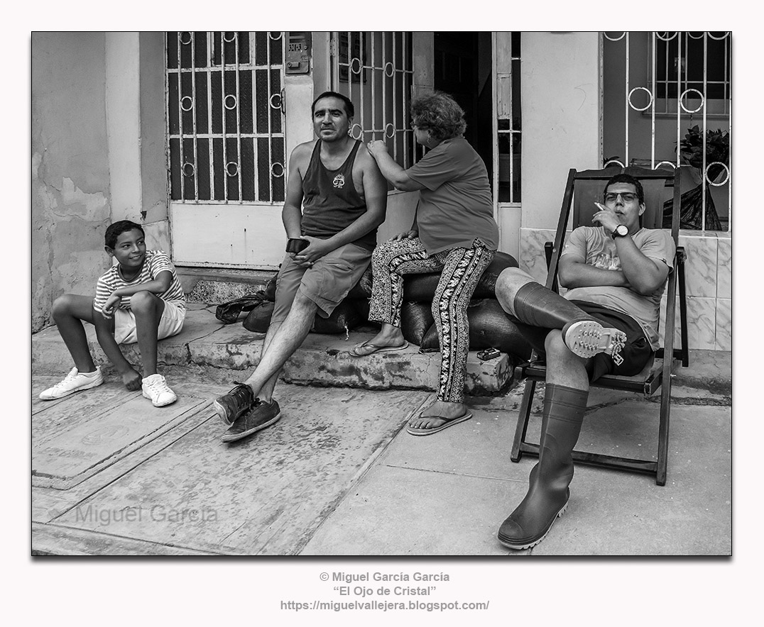 Fenómeno del Niño 2017, Piura (Perú). Sebastián, Wilder, Ernestina, José Rodolfo.