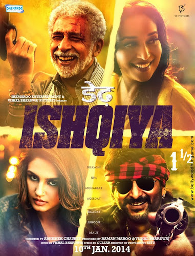 Dedh Ishqiya (2014) Movie Poster