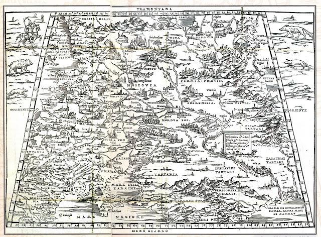 ΚΟΣΜΟΣ -ΑΣΙΑ – ΠΕΡΙΟΧΗ ΜΟΣΧΑΣ 1551