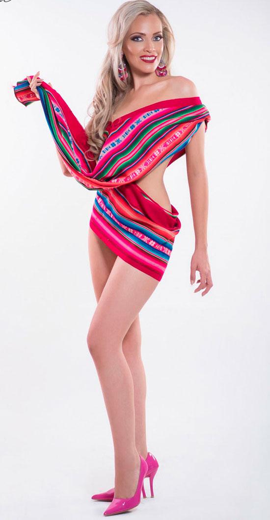 Gabriela Soleto con todo para el Miss Bolivia 2017
