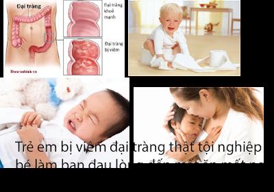 Cách điều trị bệnh viêm đại tràng ở trẻ em