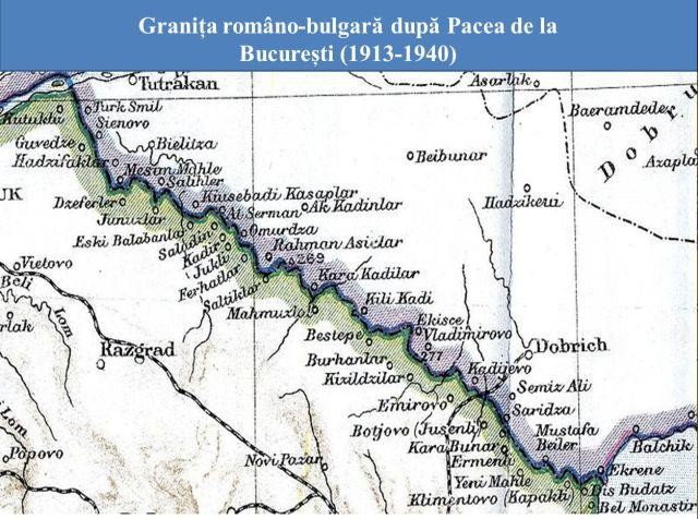 Granita romano-bulgara dupa Pacea de la Bucuresti 1913-1940