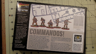 Bolt Action British Commandos From Warlord Games