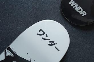WNDR Skateboard Deck ワンダー
