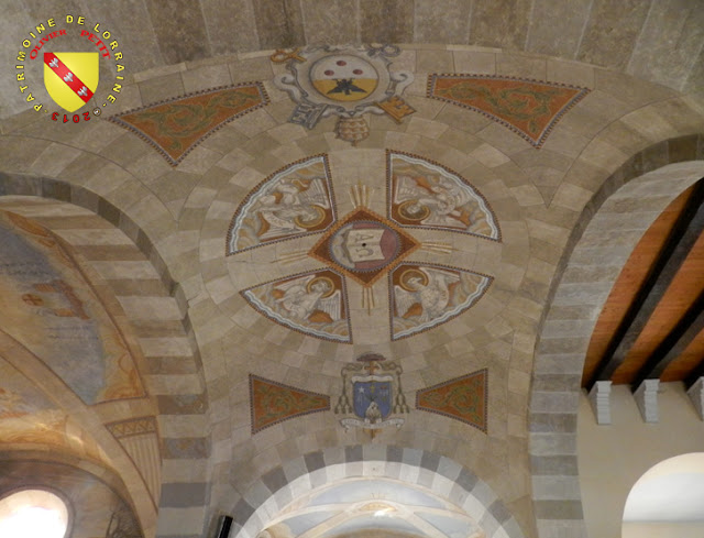KOEUR-LA-GRANDE (55) - Eglise Saint-Martin - Fresque