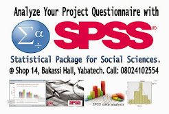 SPSS Data Analysis