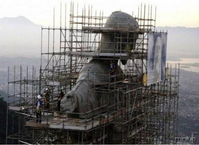 Famosos pontos turísticos na época de sua construção