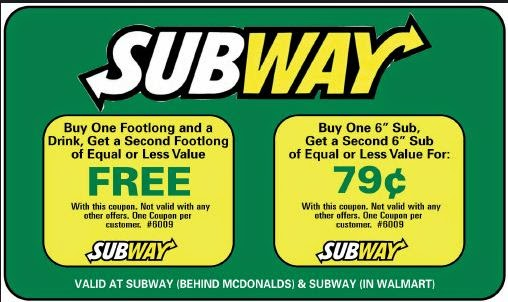 graphic about Printable Subway Coupons referred to as Subway coupon codes british isles - Coupon for produce a go through 2018