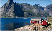 Castiga o vacanta pe o insula din Norvegia