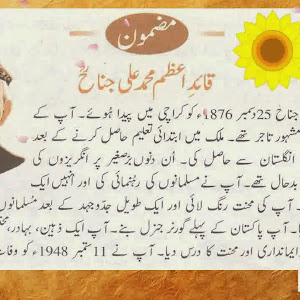 Quaid e azam essay in english for class 5 - Fourteen Points of