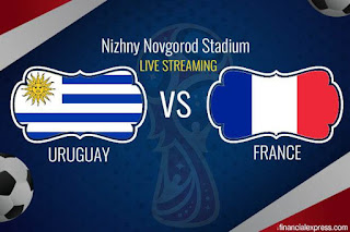World Cup 2018:- Uruguay Vs France (Line Up)