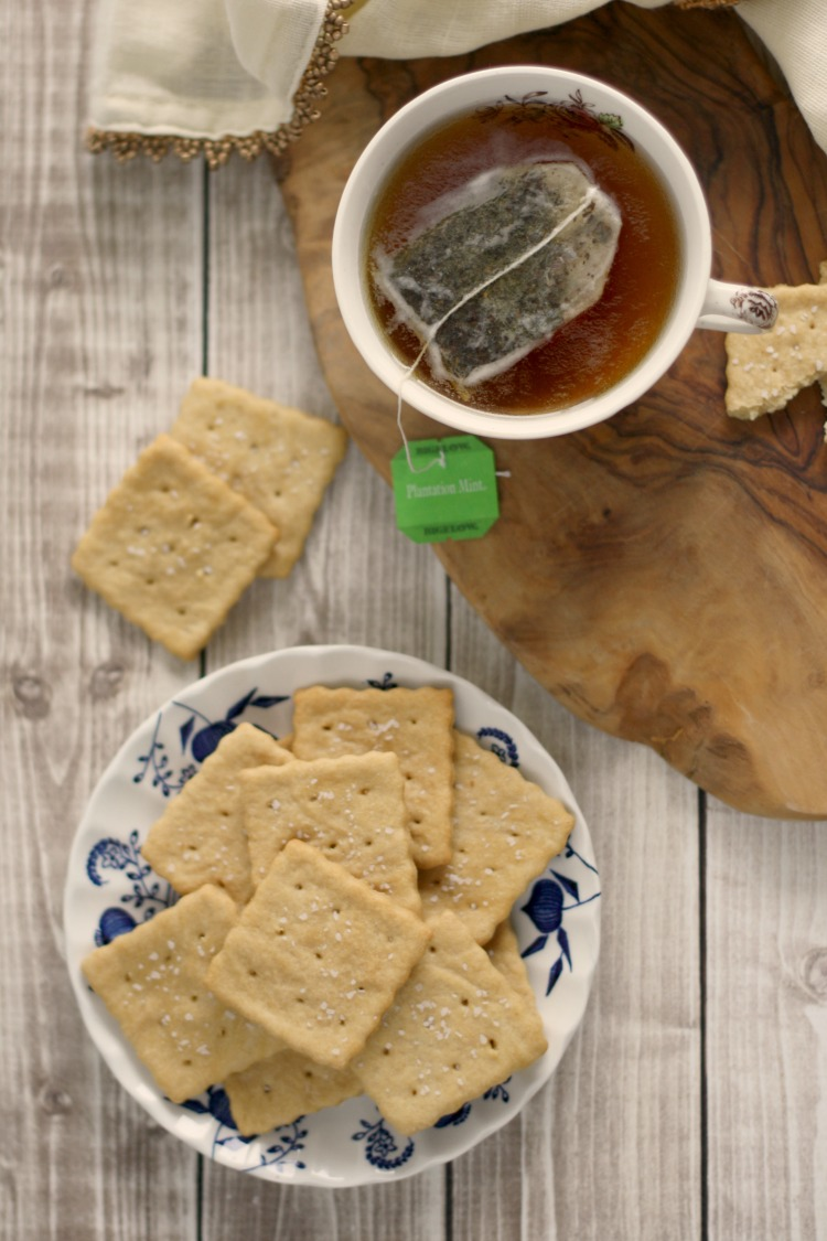 Homemade Soda Crackers (Saltines)