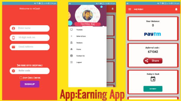 Earning app free aia for thunkable and appybuilder - Aia Market