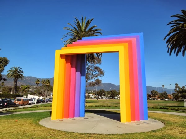 Chromatic Gate Herbert Bayer Santa Barbara