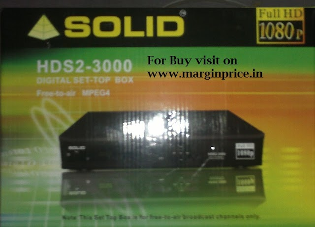 Buy Solid HDS2 - 3000 1080P Full HD DVB-S2 MPEG-4 PVR FTA Receiver