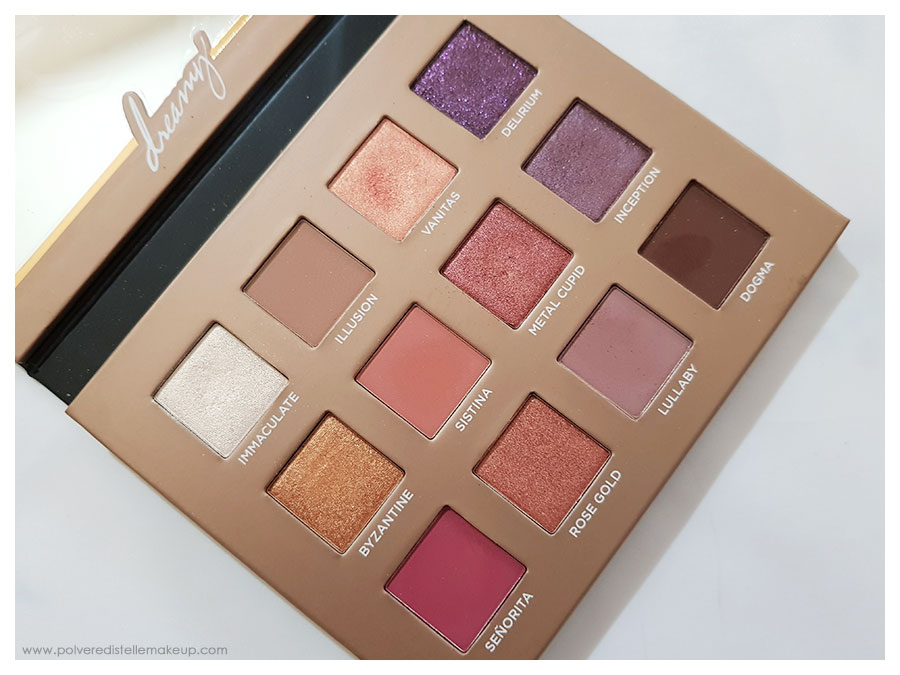 Dreamy Eyeshadow Palette Nabla Cosmetics