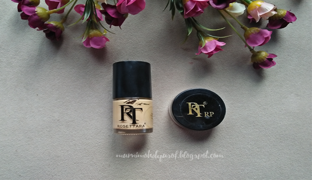 foundation rosetyra, radiance powder