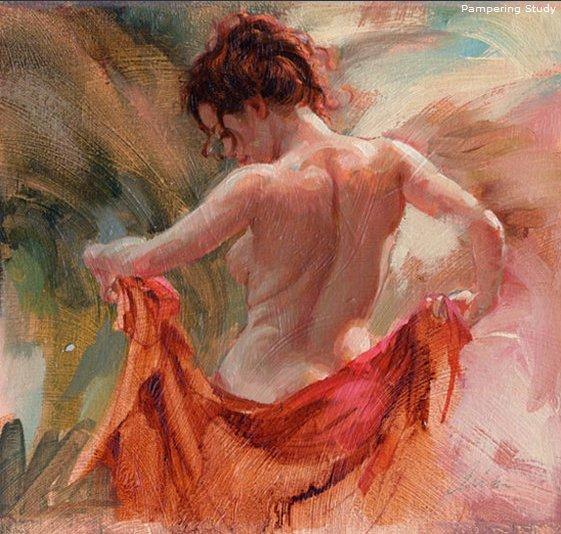 "Romantic Realist Figurative painter-""Mark Arian"""