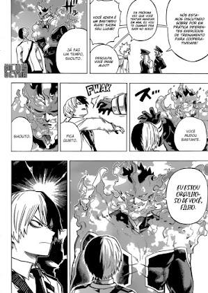 Mangá Boku No Hero Academia Capítulo 167