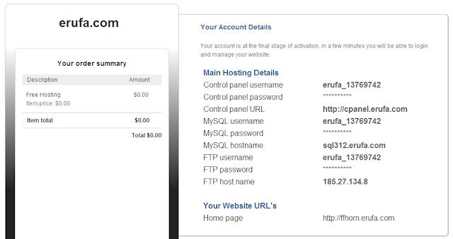 11 - erufa - 免費16888M的容量與流量,支援PHP、MySQL