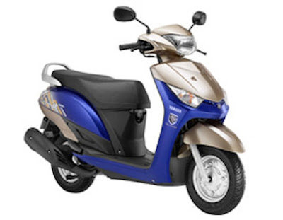 Yamaha Alpha Scooter with disk break