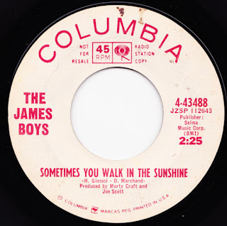 The James Boys - Columbia Singles
