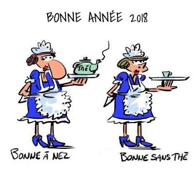 Bonne année 2018 gif images humour