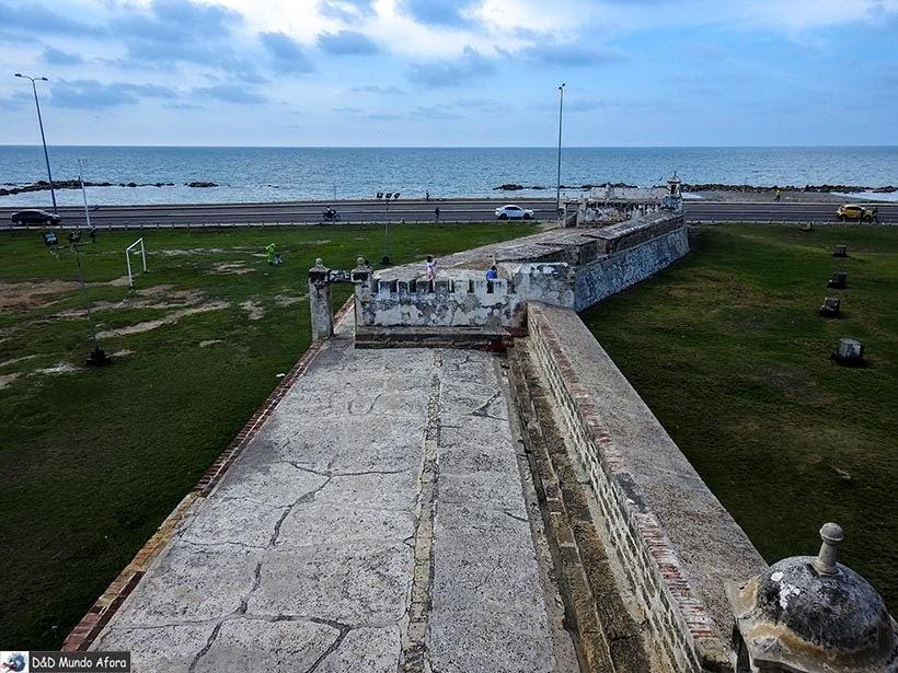 Muralhas de Cartagena - Diário de bordo: 4 dias em Cartagena, Colômbia
