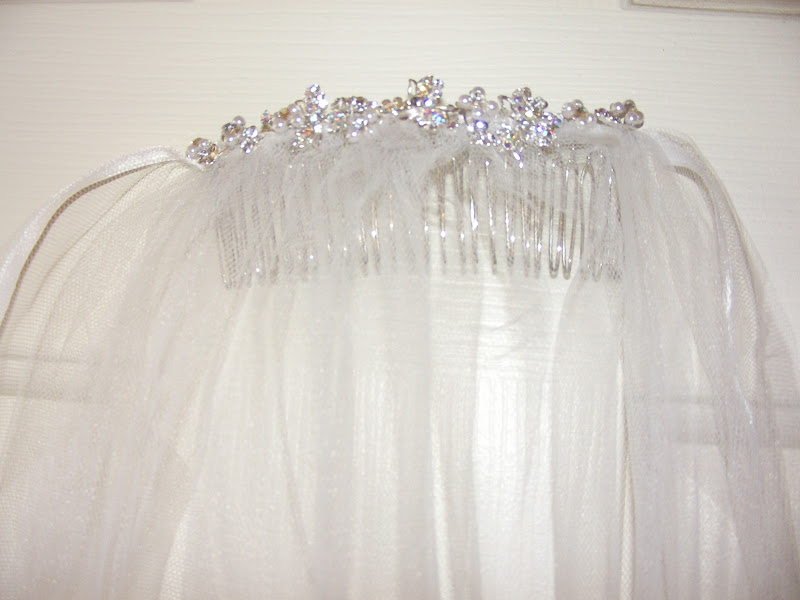 Diy Wedding Veil.Diy Wedding Veil Repurpose Two Old Veils My Girlish Whims
